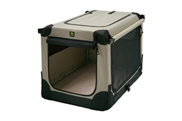 Maelson Soft Kennel faltbare Hundebox -beige - S 72 - (72 x 52 x 51 cm) - 15