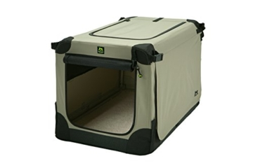Maelson Soft Kennel faltbare Hundebox -beige - S 72 - (72 x 52 x 51 cm) - 4
