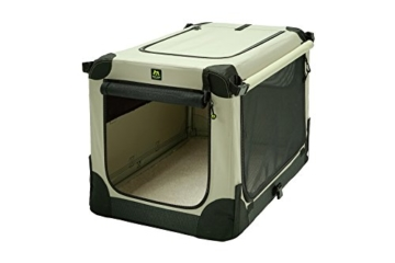 Maelson Soft Kennel faltbare Hundebox -beige - S 72 - (72 x 52 x 51 cm) - 5