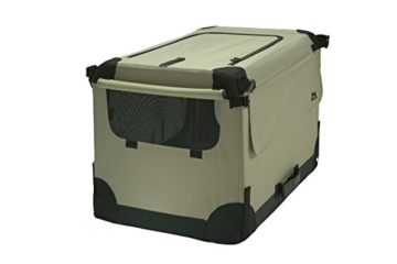 Maelson Soft Kennel faltbare Hundebox -beige - S 72 - (72 x 52 x 51 cm) - 7