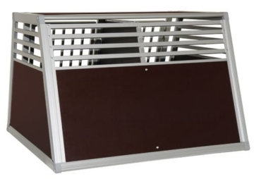 Schmidt-Box Hundebox Doppelbox ALU UMD 100/93/68 GROSS! - 2