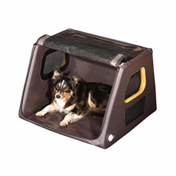 TAMI - Aufblasbares Hundebox M - Dog Box Hundetransportbox Hund Autotransportbox Transportbox Falbare Hundekäfig - 8